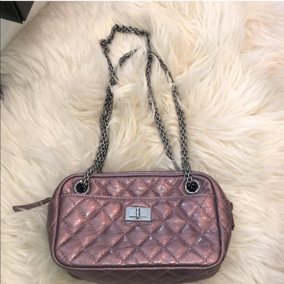 652b9b3de7d0 CHANEL Bags | 255 Reissue Camera Metallic Shoulder Bag | Poshmark